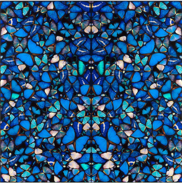 Damien Hirst The Aspects. Mercy H6-1, 2019