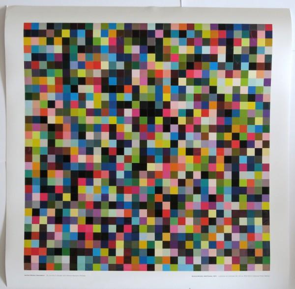 Gerhard Richter. Abstraktion, Ausstellungplakat, 2018 (1024 Farben)