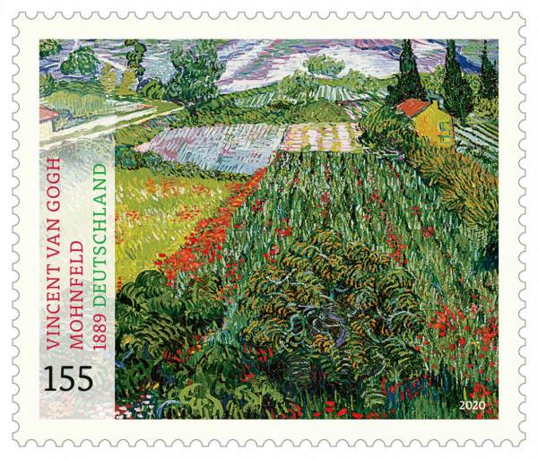 KHB_Post-Sonderbriefmarke_Mohnfeld_Van-Gogh