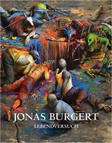 Jonas Burgert. Lebendversuch. Buch