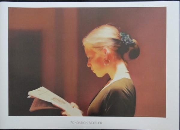Gerhard Richter. Lesende. Fondation Beyeler, 2014 Kunstdruck