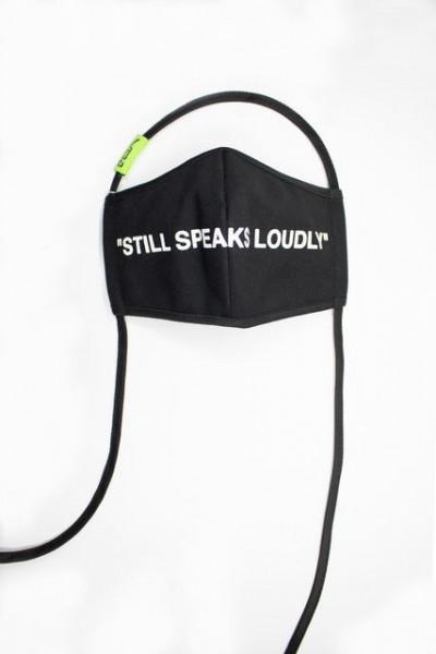 Virgil Abloh. Still Speaks Loudly, 2020 MOCA Mask