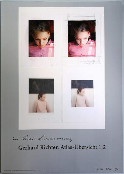 Gerhard Richter. Edition Ella, (Im Atelier Liebermann),2020 signiert GRAU
