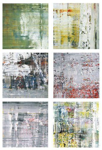 Gerhard Richter. Posteredition CAGE, & Poster, 2011